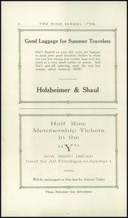 Page 10, 1923 Edition, Amsterdam High School - Senior Yearbook (Amsterdam, NY) online yearbook collection
