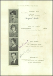 Page 14, 1929 Edition, Amsterdam High School - Senior Yearbook (Amsterdam, NY) online yearbook collection