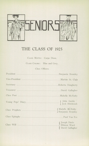Page 11, 1925 Edition, Glens Falls High School - Red and Black Yearbook (Glens Falls, NY) online yearbook collection
