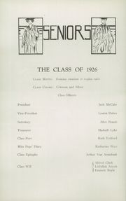 Page 12, 1926 Edition, Glens Falls High School - Red and Black Yearbook (Glens Falls, NY) online yearbook collection