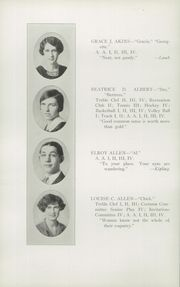 Page 14, 1926 Edition, Glens Falls High School - Red and Black Yearbook (Glens Falls, NY) online yearbook collection
