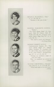 Page 16, 1926 Edition, Glens Falls High School - Red and Black Yearbook (Glens Falls, NY) online yearbook collection