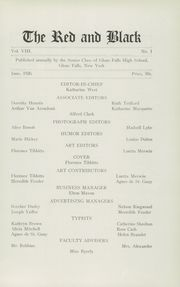 Page 9, 1926 Edition, Glens Falls High School - Red and Black Yearbook (Glens Falls, NY) online yearbook collection