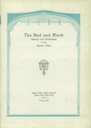 Page 5, 1933 Edition, Glens Falls High School - Red and Black Yearbook (Glens Falls, NY) online yearbook collection