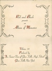 Page 3, 1948 Edition, Glens Falls High School - Red and Black Yearbook (Glens Falls, NY) online yearbook collection