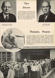 Page 13, 1952 Edition, Glens Falls High School - Red and Black Yearbook (Glens Falls, NY) online yearbook collection