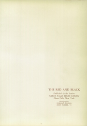Page 5, 1956 Edition, Glens Falls High School - Red and Black Yearbook (Glens Falls, NY) online yearbook collection