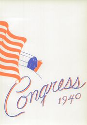 Page 7, 1940 Edition, Olean High School - Congress Yearbook (Olean, NY) online yearbook collection
