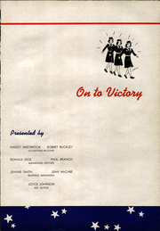 Page 5, 1944 Edition, Olean High School - Congress Yearbook (Olean, NY) online yearbook collection