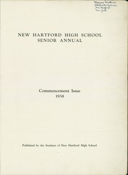 Page 3, 1938 Edition, New Hartford High School - Senior Annual Yearbook (New Hartford, NY) online yearbook collection