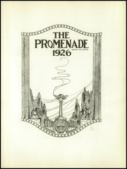 Page 5, 1926 Edition, Charles E Gorton High School - Promenade Yearbook (Yonkers, NY) online yearbook collection
