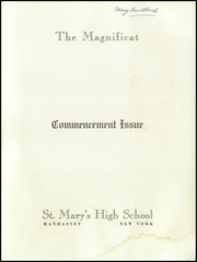 Page 3, 1958 Edition, St Marys High School - Gael Yearbook (Manhasset, NY) online yearbook collection