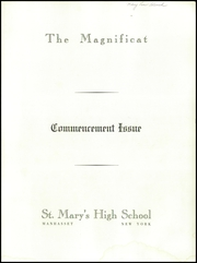 Page 3, 1959 Edition, St Marys High School - Gael Yearbook (Manhasset, NY) online yearbook collection