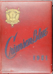 1951 Edition, Peekskill High School - Crimson and Blue Yearbook (Peekskill, NY)