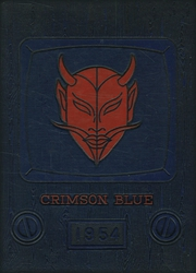 1954 Edition, Peekskill High School - Crimson and Blue Yearbook (Peekskill, NY)