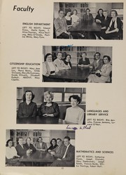 Page 14, 1955 Edition, Depew High School - Sentinel Yearbook (Depew, NY) online yearbook collection