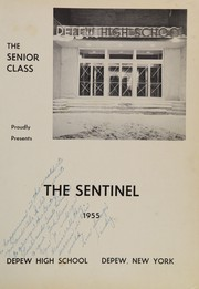 Page 5, 1955 Edition, Depew High School - Sentinel Yearbook (Depew, NY) online yearbook collection