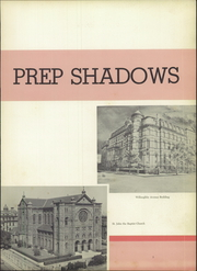 Page 7, 1959 Edition, St Johns Preparatory School - Prep Shadows Yearbook (Brooklyn, NY) online yearbook collection