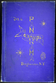 Page 1, 1899 Edition, Binghamton Central High School - Panorama Yearbook (Binghamton, NY) online yearbook collection