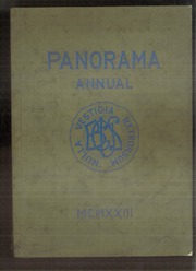 1923 Edition, Binghamton Central High School - Panorama Yearbook (Binghamton, NY)