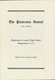 Page 9, 1932 Edition, Binghamton Central High School - Panorama Yearbook (Binghamton, NY) online yearbook collection