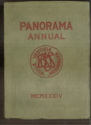 1934 Edition, Binghamton Central High School - Panorama Yearbook (Binghamton, NY)