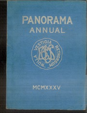 1935 Edition, Binghamton Central High School - Panorama Yearbook (Binghamton, NY)