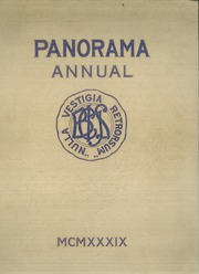 Binghamton Central High School - Panorama Yearbook (Binghamton, NY) online yearbook collection, 1939 Edition, Page 1