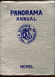 Binghamton Central High School - Panorama Yearbook (Binghamton, NY) online yearbook collection, 1940 Edition, Page 1