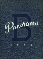 1953 Edition, Binghamton Central High School - Panorama Yearbook (Binghamton, NY)