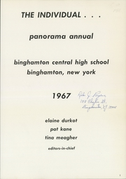 Page 5, 1967 Edition, Binghamton Central High School - Panorama Yearbook (Binghamton, NY) online yearbook collection