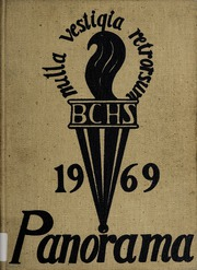 1969 Edition, Binghamton Central High School - Panorama Yearbook (Binghamton, NY)