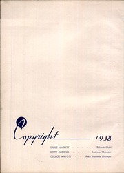 Page 6, 1938 Edition, Dunkirk High School - Ivy Tower Yearbook (Dunkirk, NY) online yearbook collection