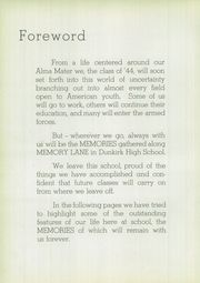 Page 8, 1944 Edition, Dunkirk High School - Ivy Tower Yearbook (Dunkirk, NY) online yearbook collection