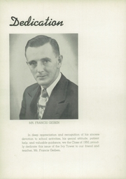 Page 10, 1950 Edition, Dunkirk High School - Ivy Tower Yearbook (Dunkirk, NY) online yearbook collection
