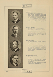 Page 11, 1922 Edition, Hornell High School - Maple Leaf Yearbook (Hornell, NY) online yearbook collection