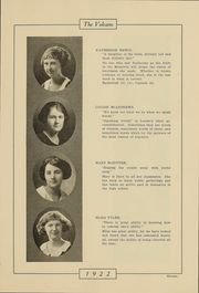 Page 12, 1922 Edition, Hornell High School - Maple Leaf Yearbook (Hornell, NY) online yearbook collection