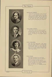 Page 17, 1922 Edition, Hornell High School - Maple Leaf Yearbook (Hornell, NY) online yearbook collection