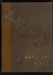 Page 1, 1936 Edition, Hornell High School - Maple Leaf Yearbook (Hornell, NY) online yearbook collection