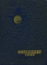 1941 Edition, Hornell High School - Maple Leaf Yearbook (Hornell, NY)