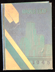 1945 Edition, Hornell High School - Maple Leaf Yearbook (Hornell, NY)
