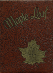 1949 Edition, Hornell High School - Maple Leaf Yearbook (Hornell, NY)