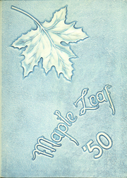 1950 Edition, Hornell High School - Maple Leaf Yearbook (Hornell, NY)
