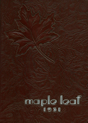 1951 Edition, Hornell High School - Maple Leaf Yearbook (Hornell, NY)