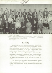 Page 13, 1951 Edition, Hornell High School - Maple Leaf Yearbook (Hornell, NY) online yearbook collection