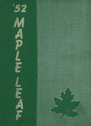 1952 Edition, Hornell High School - Maple Leaf Yearbook (Hornell, NY)
