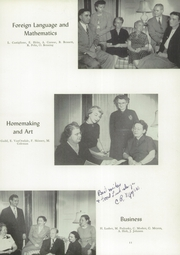 Page 15, 1952 Edition, Hornell High School - Maple Leaf Yearbook (Hornell, NY) online yearbook collection