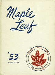 1953 Edition, Hornell High School - Maple Leaf Yearbook (Hornell, NY)
