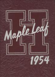 Page 1, 1954 Edition, Hornell High School - Maple Leaf Yearbook (Hornell, NY) online yearbook collection