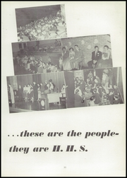 Page 15, 1954 Edition, Hornell High School - Maple Leaf Yearbook (Hornell, NY) online yearbook collection